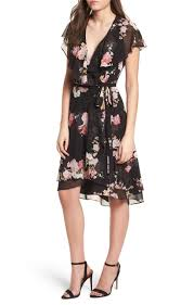 Floral Wrap Dress by Wayf