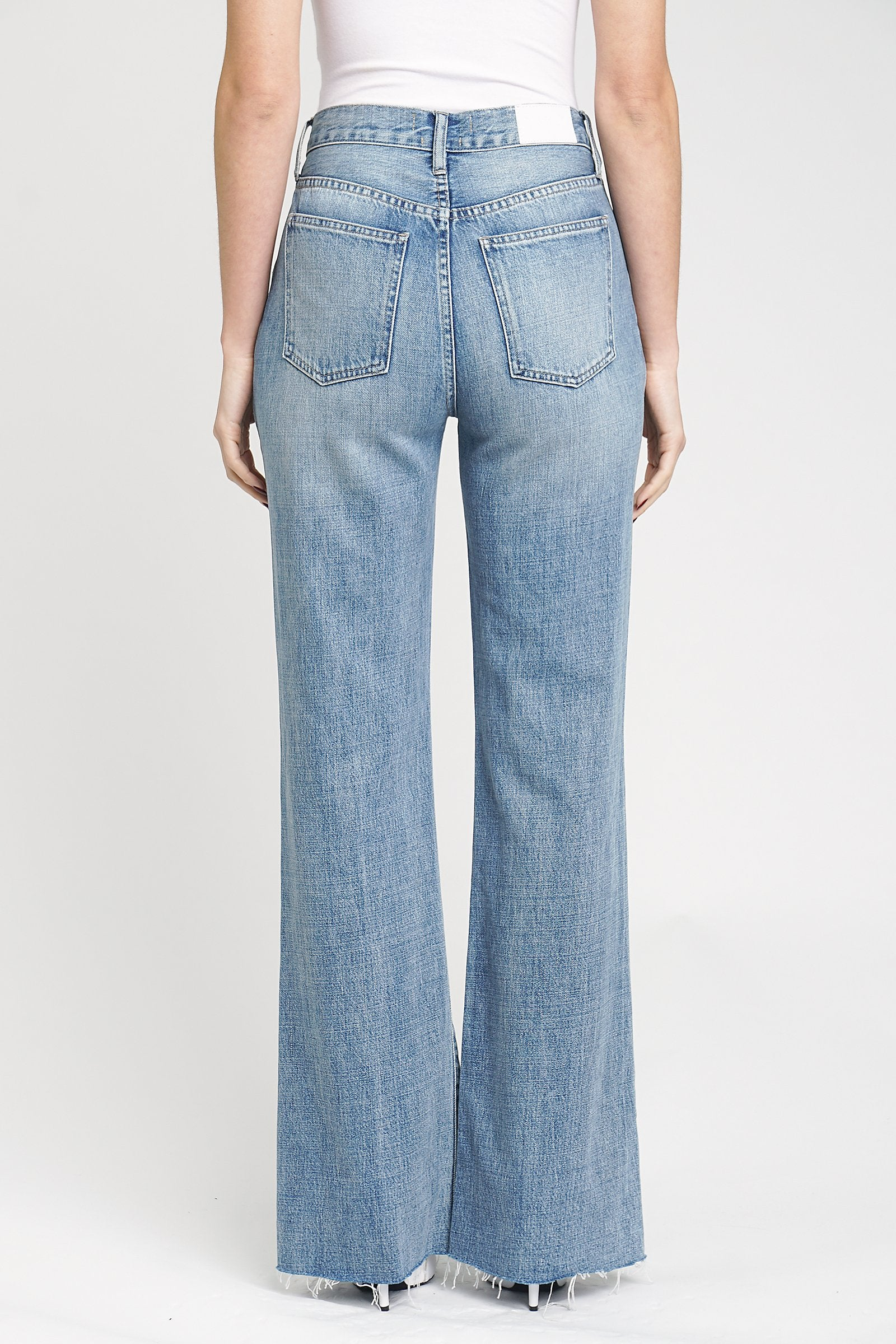 Pistola Stevie High Rise Wide Leg Jean