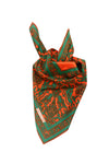 Green Orange Scarf