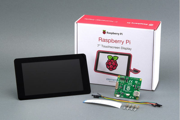 "Raspberry Pi 3 + Pi Foundation 7"" Touchscreen Kit + Lots of Extras"