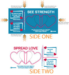 SPREAD LOVE  -  SEE YOUR STRENGTH