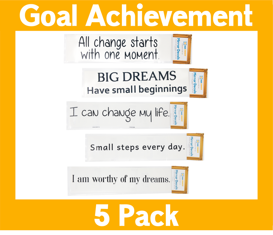 Goal Achievement Pack of 5