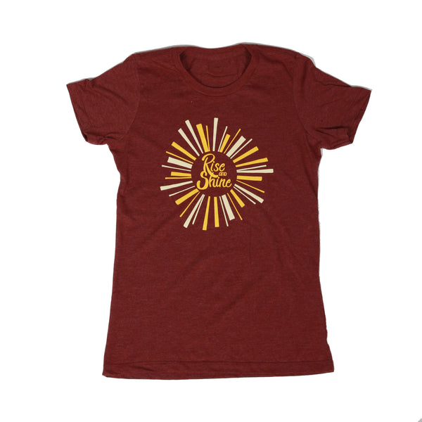 Rise and Shine Womens Tee