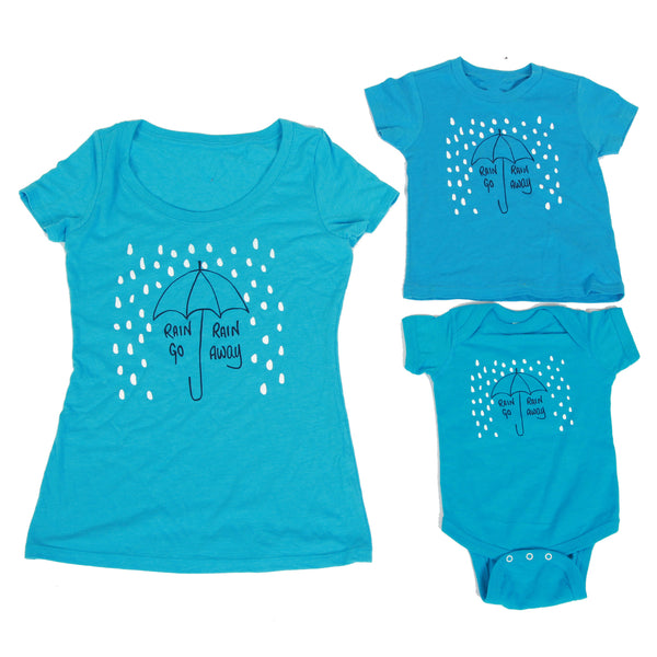 Rain, Rain Go Away Womens Tee