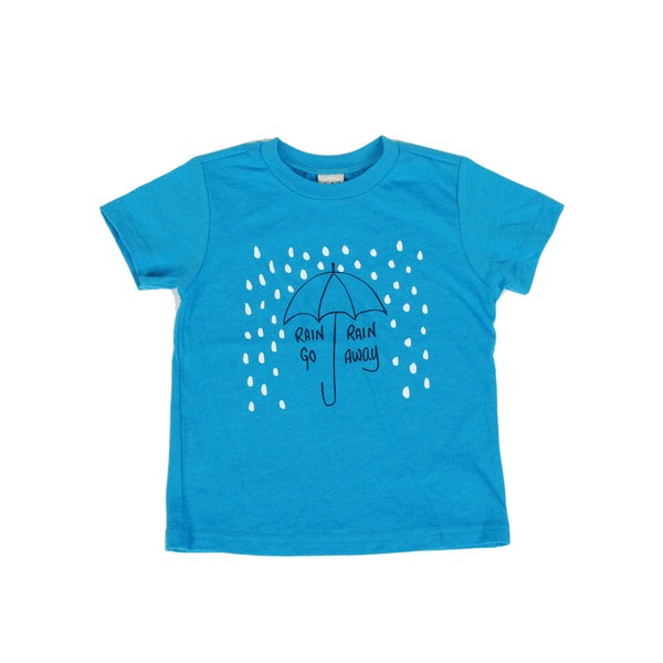 Rain, Rain, Go Away Kids Tee