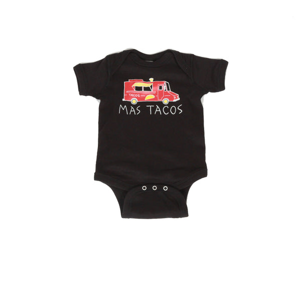 58a964d64419 Mas Tacos Onesie + Romper – Little Orchard Co.