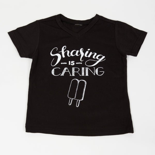 Sharing is Caring Kids Tee