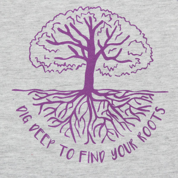 Find Your Roots Kids Baseball Tee
