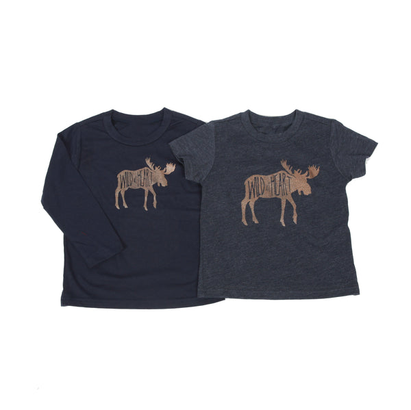 Wild at Heart Kids Longsleeve Tee