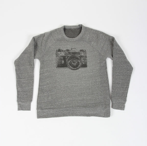 Camera Adult Pullover Sweatshirt