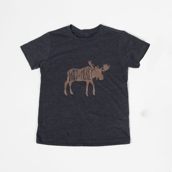 Wild at Heart Kids Tee