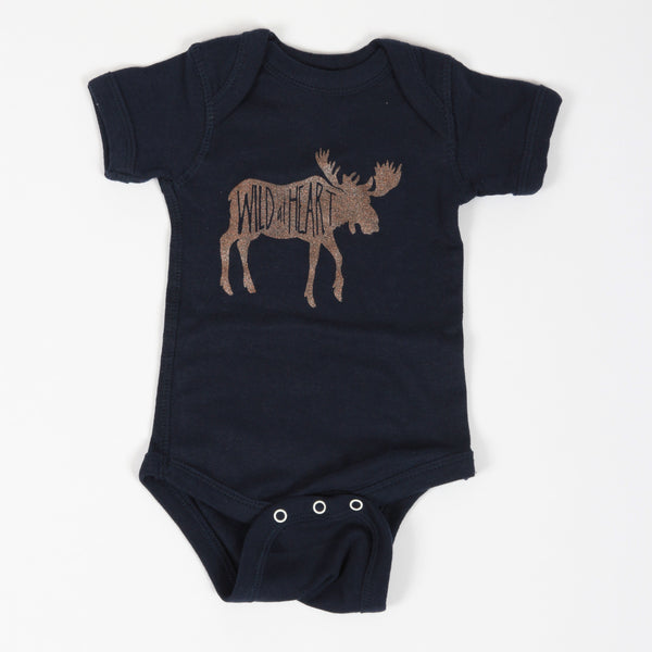 Wild at Heart Onesie