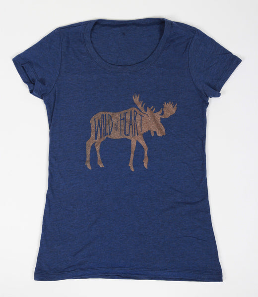 Wild at Heart Womens Tee