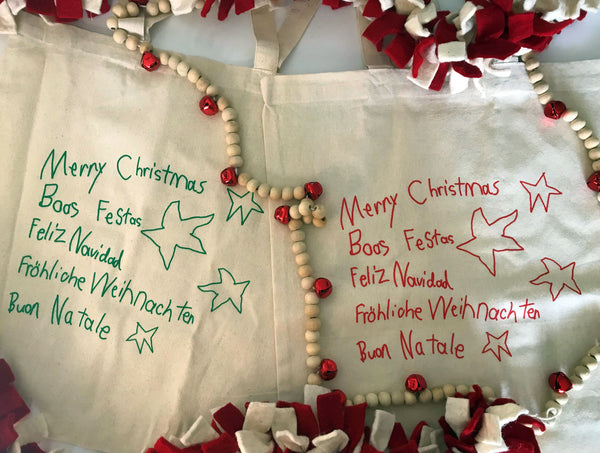 Christmas in Any Language Tote Bag