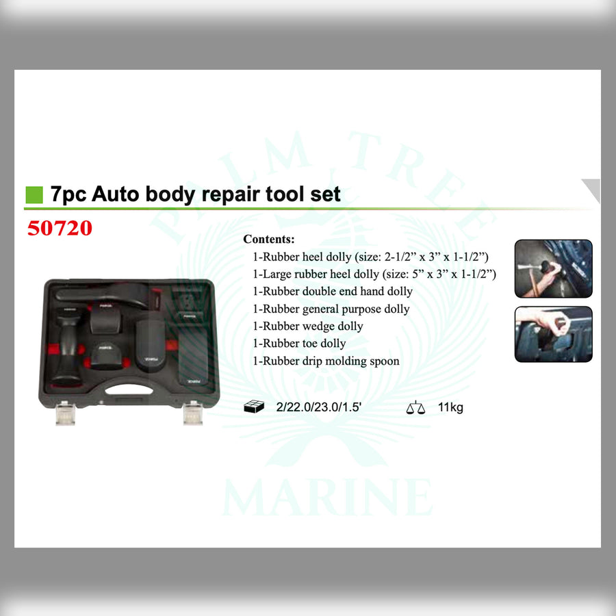 Auto Body repair tool set 7pc