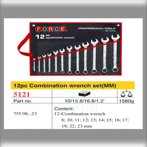 combination wrench set 12pc