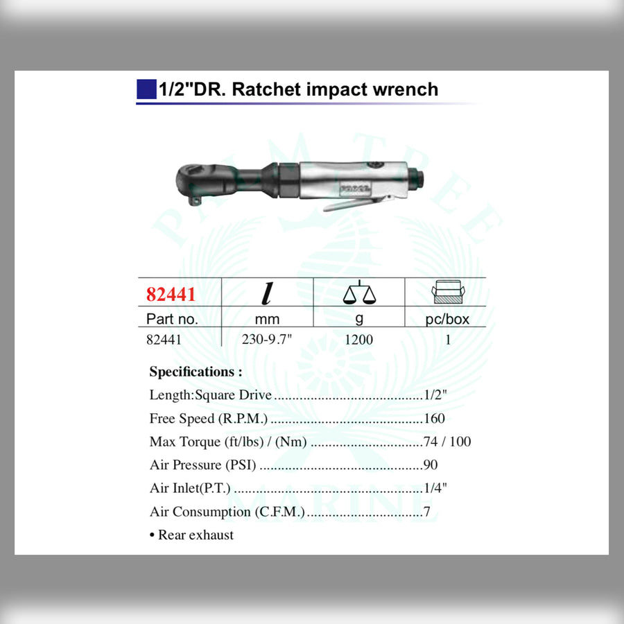 DR. Impact Ratchet Wrench 1/2''