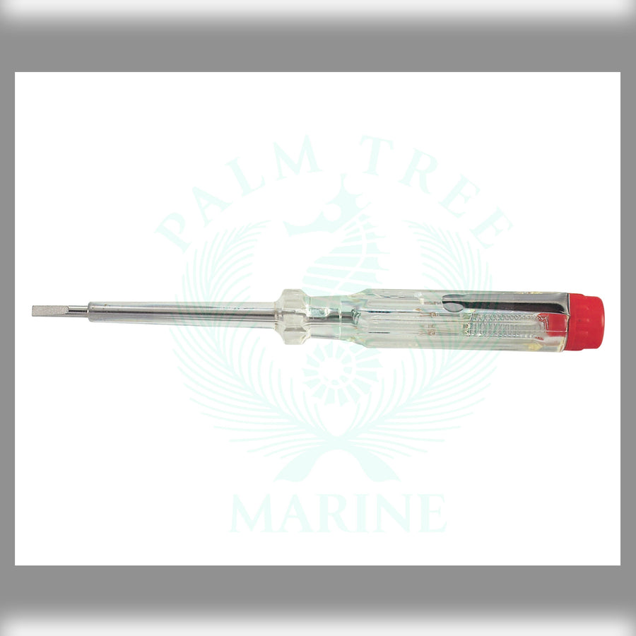 Screwdriver probe voltage tester