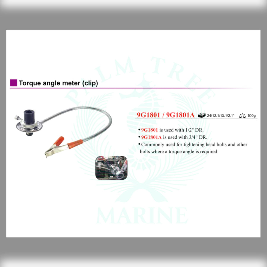 DR. Torque angle meter clip
