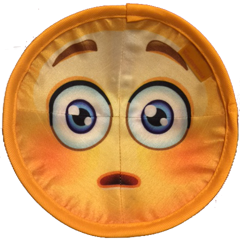 Laughing Emoji Kippah (Scared Emoji Inside)