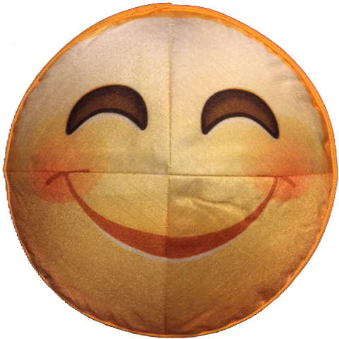 Smile Emoji Kippah (Indifferent Emoji Inside)