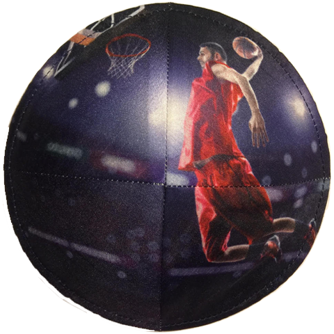 Basketball Player Kippah | Pic-A-Kippa