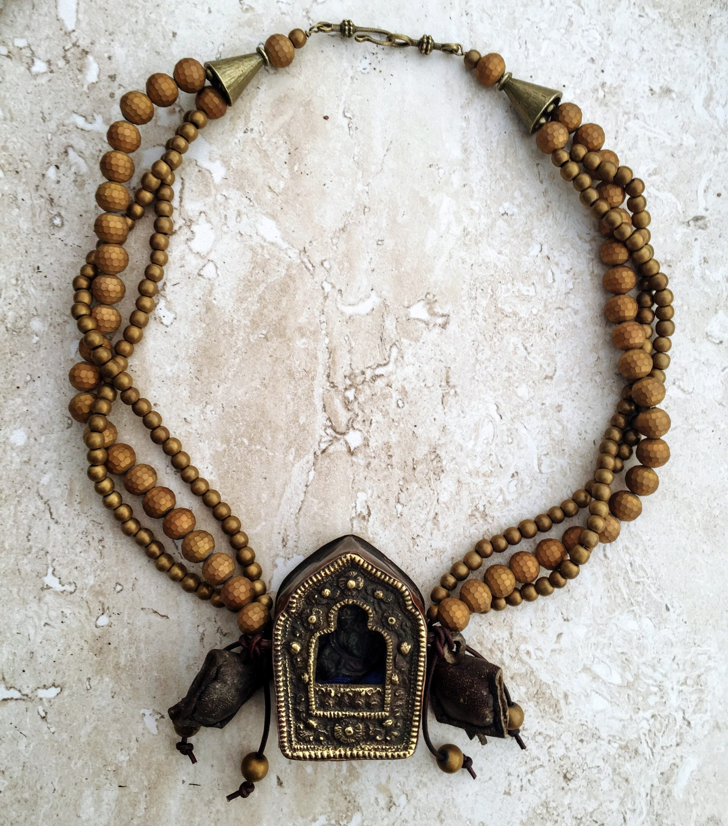 agate img vintage prayer necklace products style w black afghan