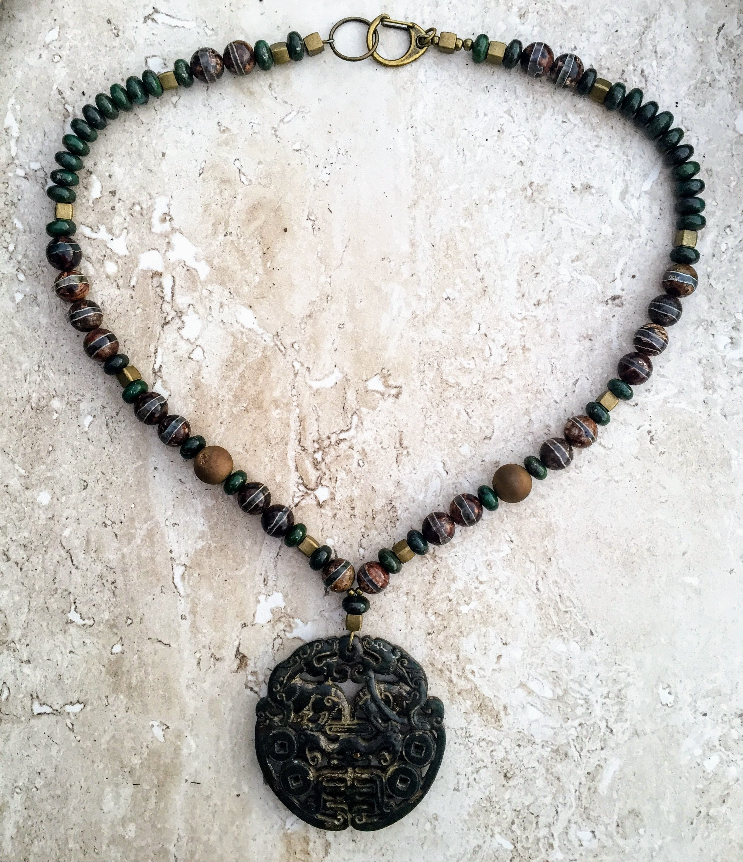 jewelry stunning using chinese designed with style out jewels pin step necklace is in was this beauty beads magdalene jade handmade