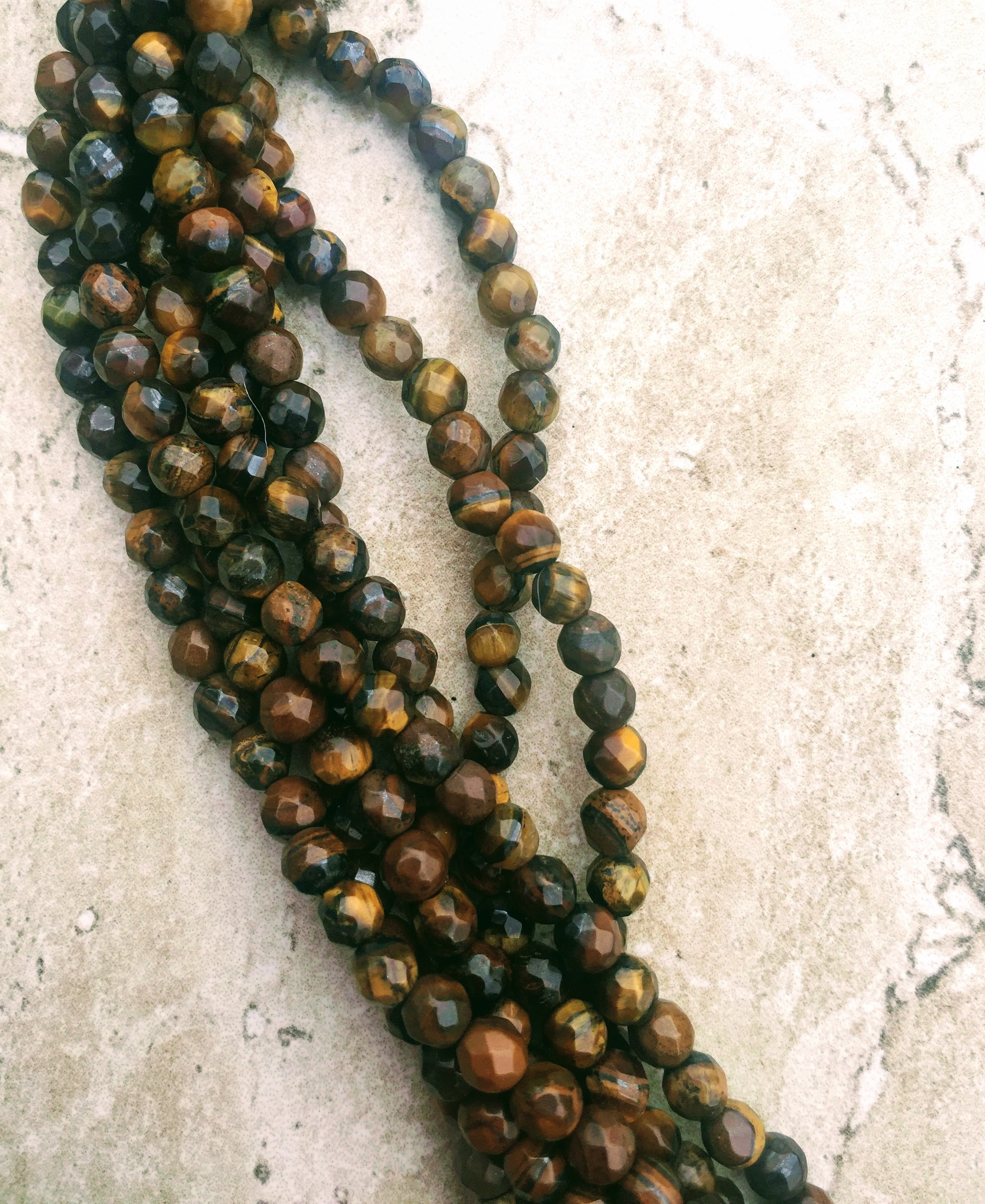 necklace eye buddha tassel tigereyebuddhanecklace tiger