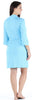 Women's Bamboo Jersey Short Wrap Robe