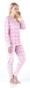 Women's Super Soft Fleece 2-Piece Pajamas Set