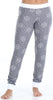 Women's Soft Thermal Long Sleeve Henley and Jogger Pants Pajama Set