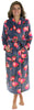 PajamaMania Women's Fleece Robes in Bright Flower
