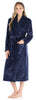 Women's Plush Fleece Long Bathrobe