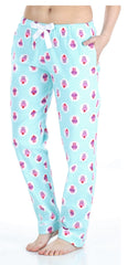 PajamaMania Women's Cotton Flannel Pajama PJ Pants