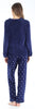 Women's Fleece Long Sleeve Pajama Set