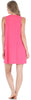 PajamaMania Women's Sleepwear Lightweight Sleeveless Nightgown