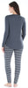 Women's Knit Longsleeve Top and Leggings Pajamas