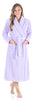 Sleepyheads Women's Jacquard Plush Fleece Long Robe