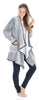 Sleepyheads Pajama Women's Fleece Long Sleeve Wrap Robe Cardigan with Pockets