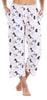 Women's Jersey Lightweight Capri Pajama Pants with Pockets