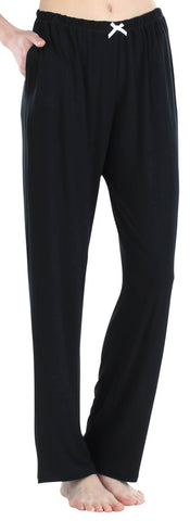 Women's Stretchy Knit Pajama Pants