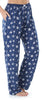 Women's Stretchy Knit Pajama Pants in Dandelion