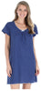 Women's Cotton Short Sleeve Nightgown