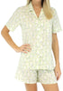Sleepyheads Women's Poplin Short Sleeve & Short