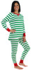 Women's Festive Holiday Knit Pajama