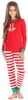 Christmas Family Matching Red Stripe Elf Pajama for Kids