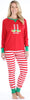 Elf Christmas Family Mix and Match Red Striped Elfie Pajama
