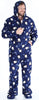 Family Matching Holiday Penguin Fleece Onesie PJs Footed Pajamas for the Family in Men