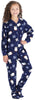 Baby, Toddler, and Kids' Fleece Footed Onesie Pajamas
